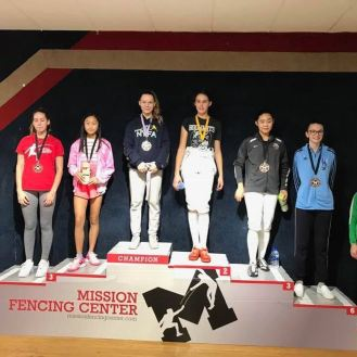 Caralina gold Isabella bronze Anna T 5th CWE Mission RJCC 2