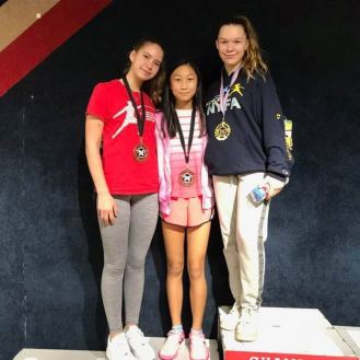 Caralina gold Isabella bronze Anna T 5th CWE Mission RJCC