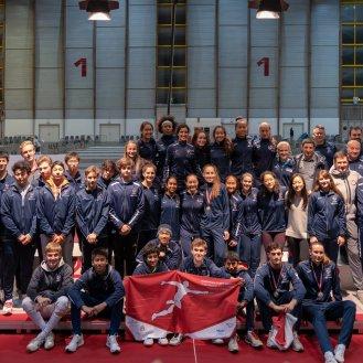 US Cadet Team at Klagenfurt
