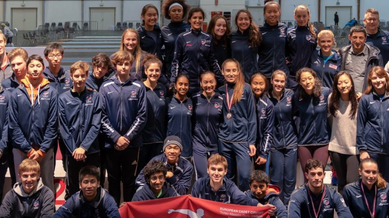 Klagenfurt Cadet World Cup, College Temple Open