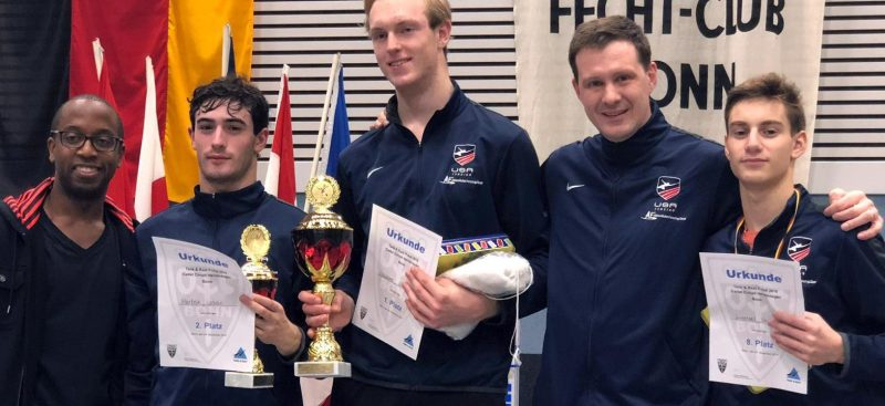 USA Fencing: Bonn Cadet European Cup2018