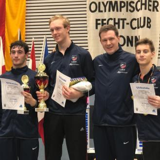 Skyler Liverant 8th Bonn Cadet World Cup 2018