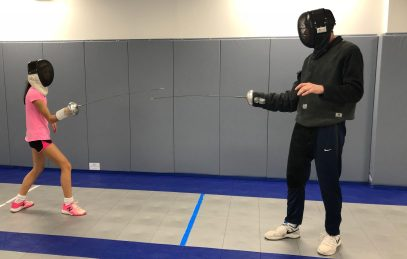 Long Island fencing at NYFA-LI