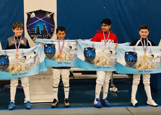 Finn Chimoskey bronze Ethan Agaon top 8 Windy City SYC