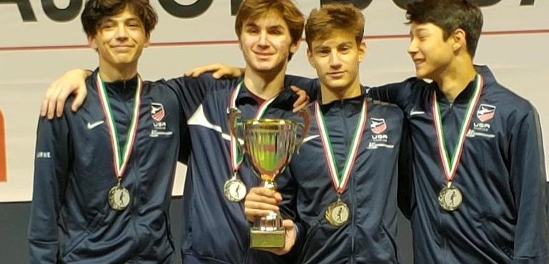 Kensington Kid Now Nation's Top Youth Fencer: Skyler Liverant over the weekend won bronze in the Cadet World Cup in Budapest