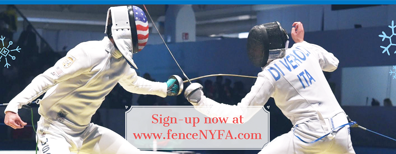 Long Island and Brooklyn Winter Break Fencing Camps