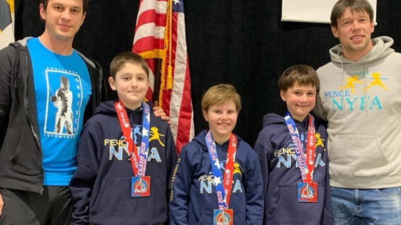 January Results: NAC, World Cup, Capitol Clash SYC, ROC/RJCC – so many medals!