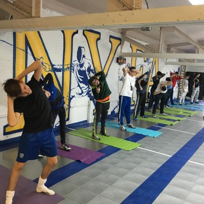 NY Fencing Academy workout
