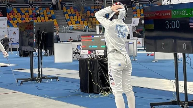 For Immediate Release: Brooklyn Fencer Jaclyn Khrol Top 8 in World Championship, #13 inWorld