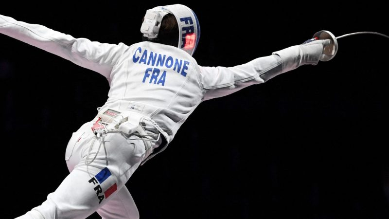 For Immediate Release: Brooklyn-Trained Fencer Romain Cannone Wins Olympic Gold ForFrance