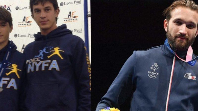 Long Island coach celebrates Romain Cannone's Olympicgold