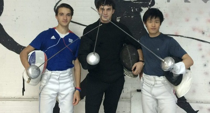 Meet the Coney Island-Trained French Fencing Olympian RomainCannone